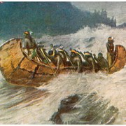 Cover image of The War Canoe