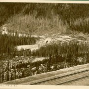 Cover image of 12 Post Cards, Mountain Views Along the Line of the Canadian Pacific Railway Co.