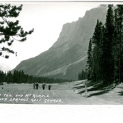 Cover image of #7 Tee and Mt Rundle, Banff Springs Golf Course