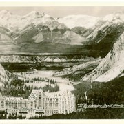 Cover image of #144. The Bow Valley- Banff Alberta with C.P.R. Hotel