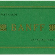 Cover image of 12 Postcards Banff Canadian Rockies