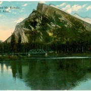 Cover image of Bow River and Mt. Rundle, Banff, Alta.