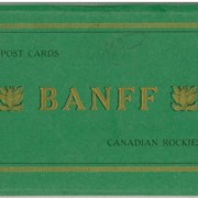 Cover image of 12 Post Cards Banff Canadian Rockies