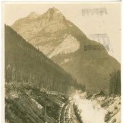 Cover image of Entering Connaught Tunnel and Ross Peak
