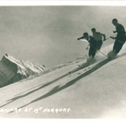 Cover image of 1020. Skiers at Mt. Norquay [Mount Norquay]
