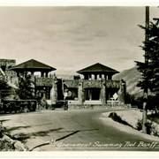 Cover image of Government Swimming Pool, Banff, Alta.