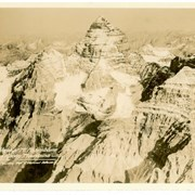 Cover image of Aeroplane View of Mt. Assiniboine, Canadian Rocky Mountains, Courtesy Dept. of National Defence
