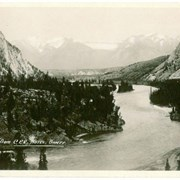 Cover image of Bow Valley from C.P.R. Hotel, Banff