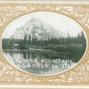 Cover image of Rundle Mountain, Bow River, Banff