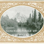 Cover image of Echo River & Rundle Mt. [Rundle Mountain]