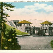 Cover image of Government Bath House, Banff, Alberta