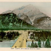Cover image of Banff, Alberta, with Cascade Mountain, 9826 ft.