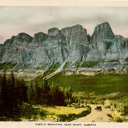 Cover image of Castle Mountain, Near Banff, Alberta