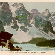 Cover image of Moraine Lake in the Valley of the Ten Peaks, Alberta