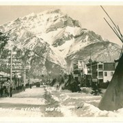 Cover image of 346. Banff Avenue, Winter