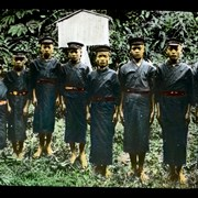 Cover image of School children of the Tappo Savage group in Mount Ari, Formosa