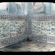 Cover image of Agra- Marble work on Taj Mahal