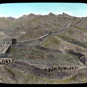 Cover image of Westward along the Great Wall from Nankow Pass.