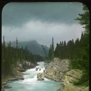 Cover image of At the mouth of the north fork [North Saskatchewan River]