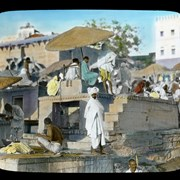 Cover image of Burning Ghat Benares India