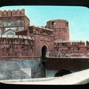 Cover image of Amar Singh Gate to Agra Fort, Agra, India
