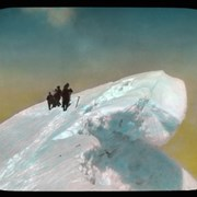 Cover image of [Group of Alpine Club of Canada climbers near cornice]