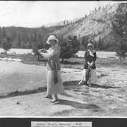 Cover image of Banff, Canada. Golf / 27010