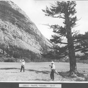 Cover image of Banff, Canada. Golf / 27011
