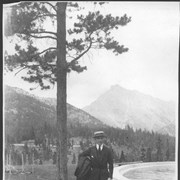 "Cover image of Banff, Canada. Captain ""Eddie"" Rickenbacker / 27030"