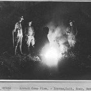 Cover image of Around Camp Fire: Browne, Lait, Enor, Dawson / 27254