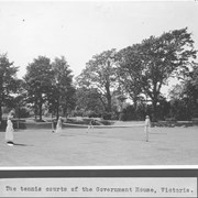Cover image of Scenes in the garden of the Government House, Victoria / 27832.