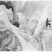 Cover image of Climbing the Illecillewaet Glacier / 27855 : [Illecillewaet Glacier]