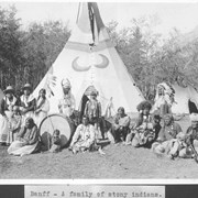 Cover image of Banff, a family of Stony Indians : [Stoney Indians] / 27778