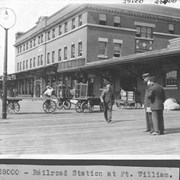 Cover image of Railroad Station at Ft. William / 28000