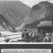 Cover image of Scene along the Kicking Horse River / 27789