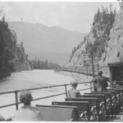 Cover image of Scene along the Kicking Horse River / 27787