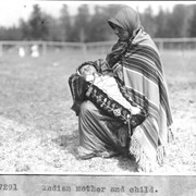 Cover image of Indian mother and child / 27291