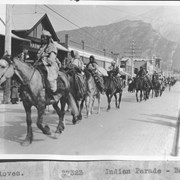 Cover image of Indian parade, Banff / 27323