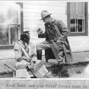 Cover image of Jack Lait and Old Chief Horse Foot at Morley / 27337