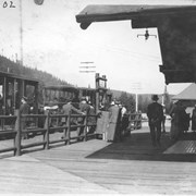 Cover image of R. R. Station, Lake Louise / 27602