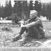 Cover image of Mr. Mitchell, manager of the Alpine Camp / 27615