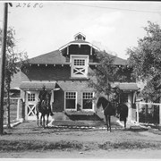 Cover image of Banff, Mounted police building / 27686
