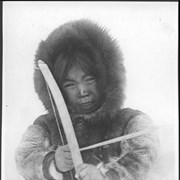 Cover image of Canada. Hudson Bay. An Esquimo child with his bow and arrow / 38883