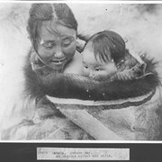 Cover image of Canada. Hudson Bay. An Esquimo mother and child / 38878