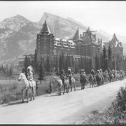 Cover image of Canada. Alberta, Banff. (The Rockies) Indian Days. The Springs Hotel / CN156.