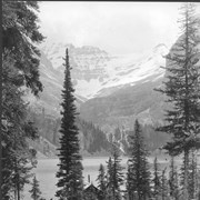 Cover image of Canada. The Rockies. Lake 0' Hara, Victoria Glacier and the Seven Sisters Falls in the background / CN151.