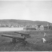Cover image of Canada. (Nova Scotia). Guns of Fort Anne, at Annapolis Royal, America's oldest fortification / CN277