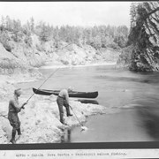 Cover image of Canada. Nova Scotia. Nepisiquit salmon fishing / 49726