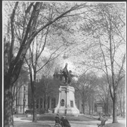 Cover image of Canada. Quebec. Montreal. Dominion Square showing Strathcona Monument, South African war Memorial, Trooper of Strathcona Horse, and St. James Cathedral / CN112