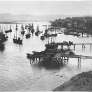 Cover image of Canada. Gaspe District. The fishing fleet at anchor in a little cove / CN230